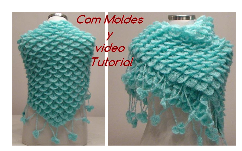chal en crochet tutorial