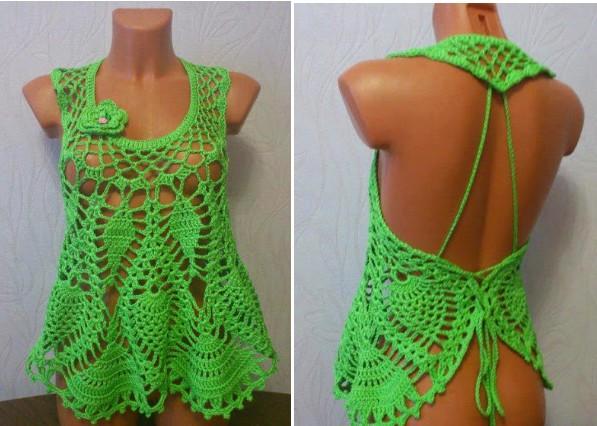 crochet bluse easy paso a paso (16)