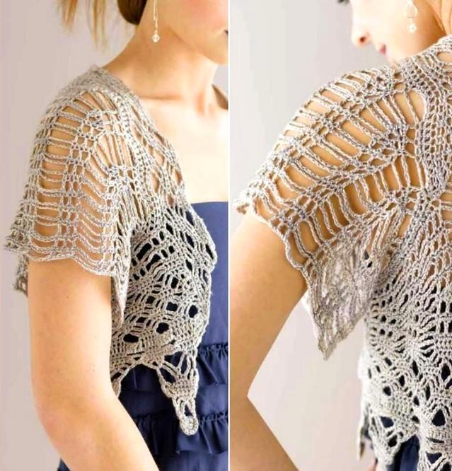 crochet bolero elegante (1)