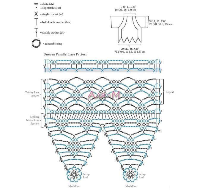 crochet bolero elegante (2)