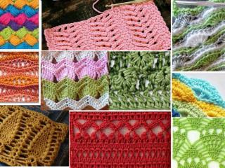 los 26 mejores puntos en crochet ganchilloganchillo