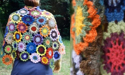 Crochet-Japanese-Flower-scarf-1