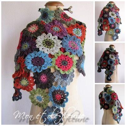 Crochet-Japanese-Flower-scarf-2