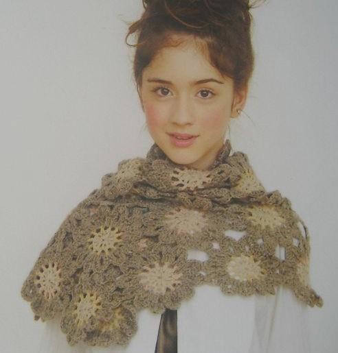 Crochet-Japanese-Flower-scarf