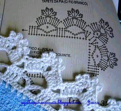 Puntillas y bordes de Crochet (18)