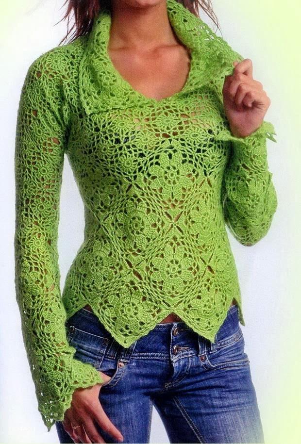 sueter-verde-para-tejer-al-crochet-1