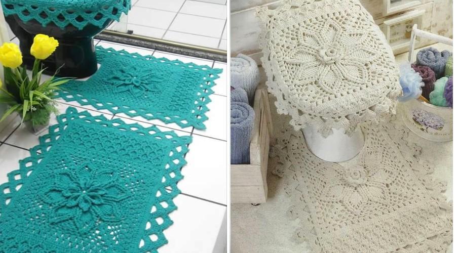 juego-de-bano-en-crochet