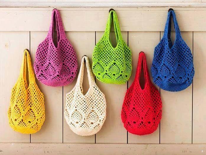 Como Hacer Un Bolso Tejido A Crochet Para Mujer Ganchilloganchillo