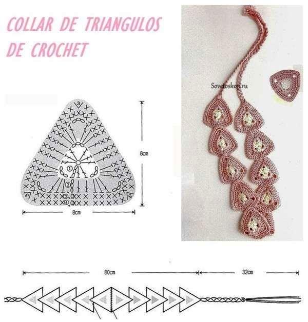 Como hacer collares de ganchillo DIY - GanchilloGanchillo