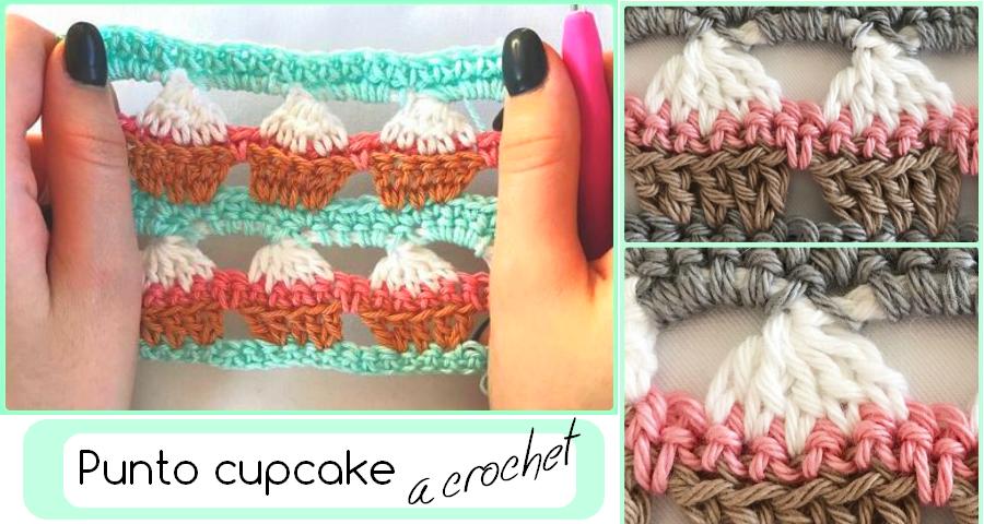Como hacer la puntada cupcake - GanchilloGanchillo