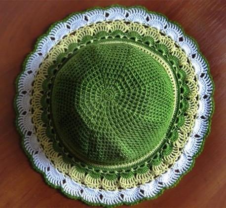 Sombrero Para Niña Al Crochet - iPad Contest